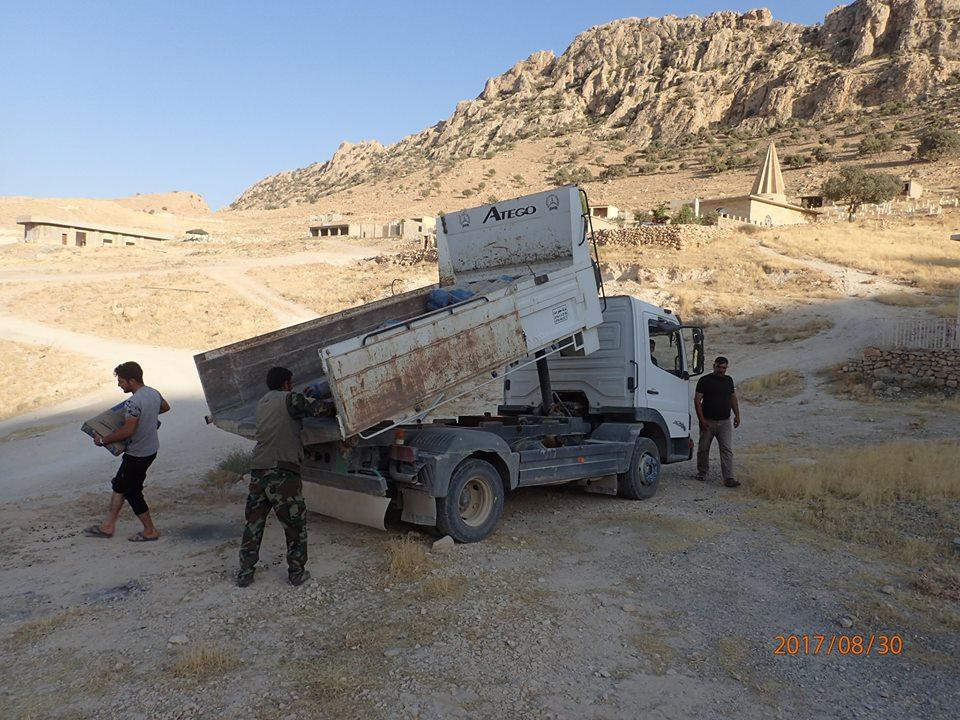 Eaglewatch help yazidi village