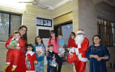 Christmas in Qaraqosh and Bartelli and Eaglewatch's suport for the local hospital