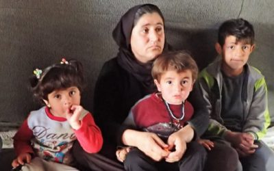 They have escaped a Sinjar massacre, now they live in the Esiyan IDP camp and need help