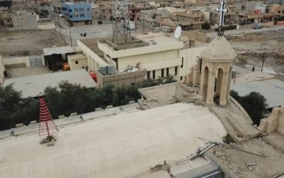 Poles helping Qaraqosh – Eagle Watch's support for school and church