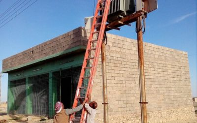 One week ago the electrical network repair project in Wardiya was completed  – Eaglewatch financed the restoration of electricity in another village in Iraq