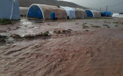 A massive storm destroyed IDP camps – urgent help needed