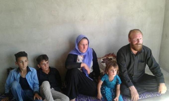 Jazydzka rodzina, dla której Orla Straż wybudowała dom