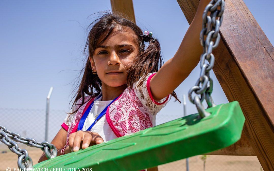 Ośrodek dla dzieci i wdów w Khanke – oaza na środku pustyni