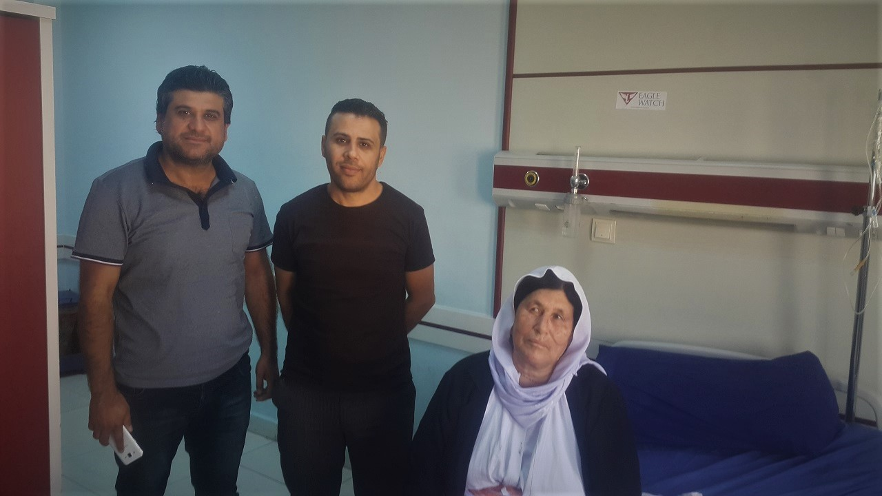 Pomogliśmy w sfinansowaniu operacji Shamy - 64 letniej wdowy z Bashiqi