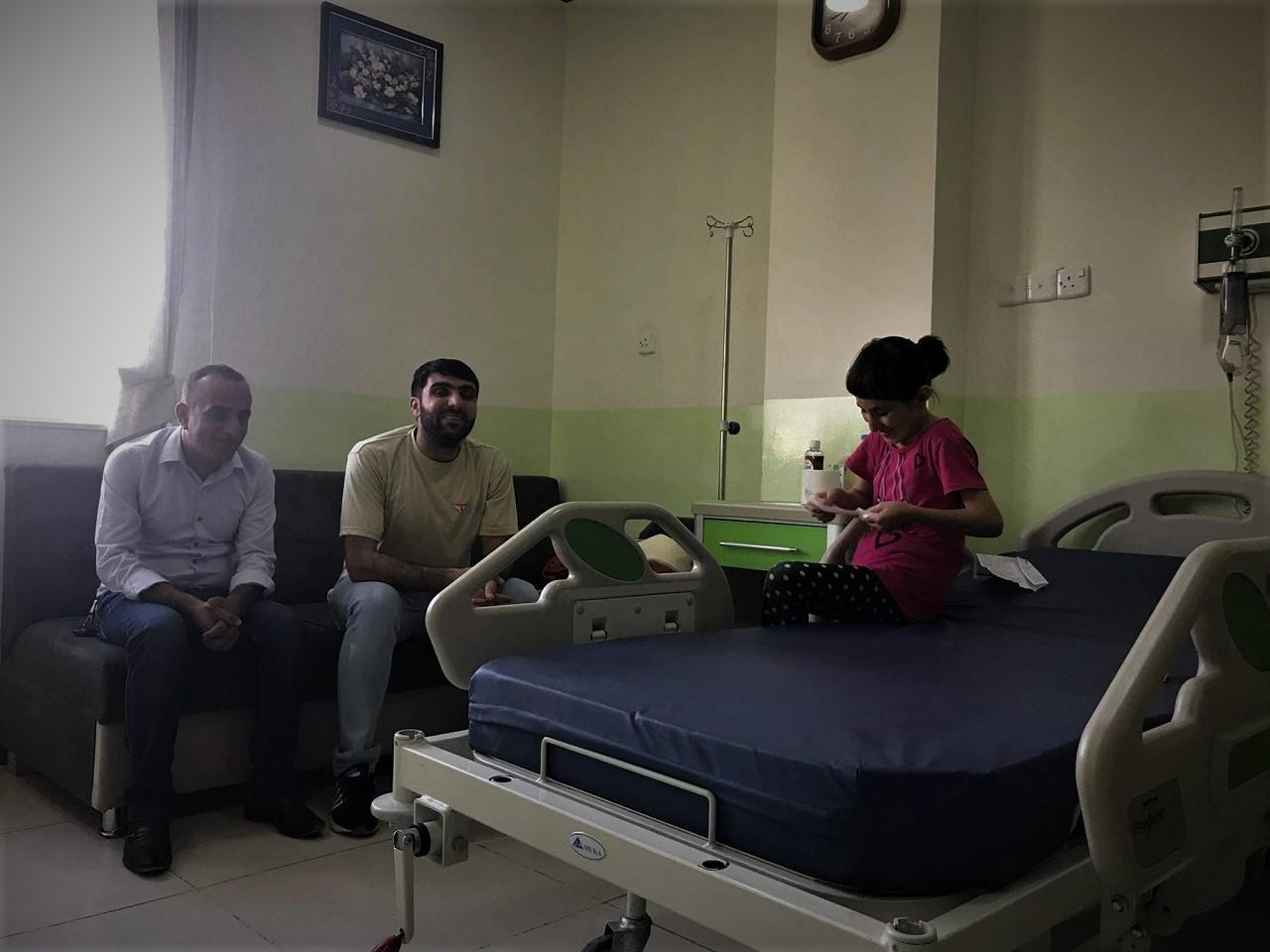 Ahdab dochodziła do siebie po operacji przez ponad 10 miesięcy