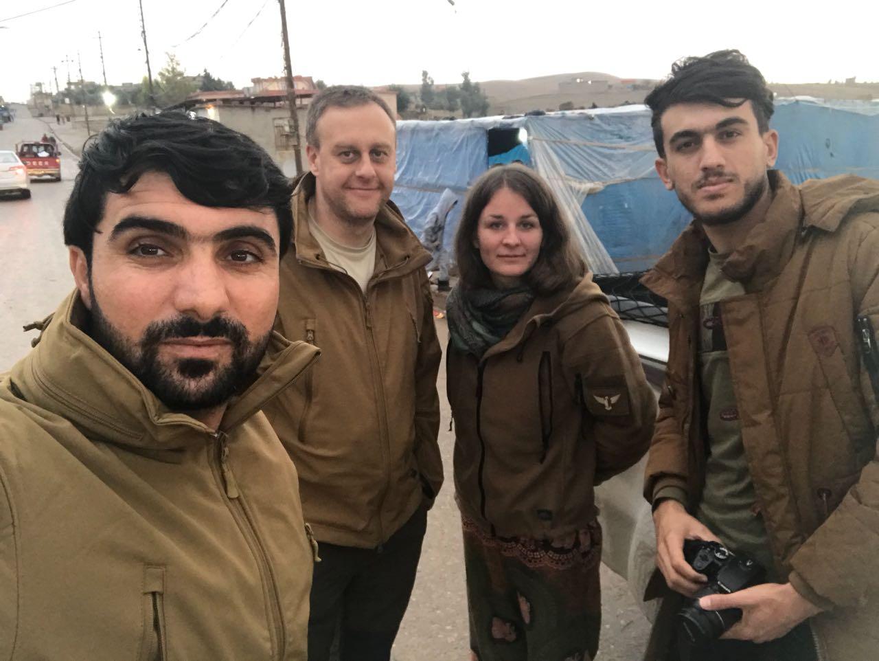 Orla Straż w Iraku (listopad 2018)