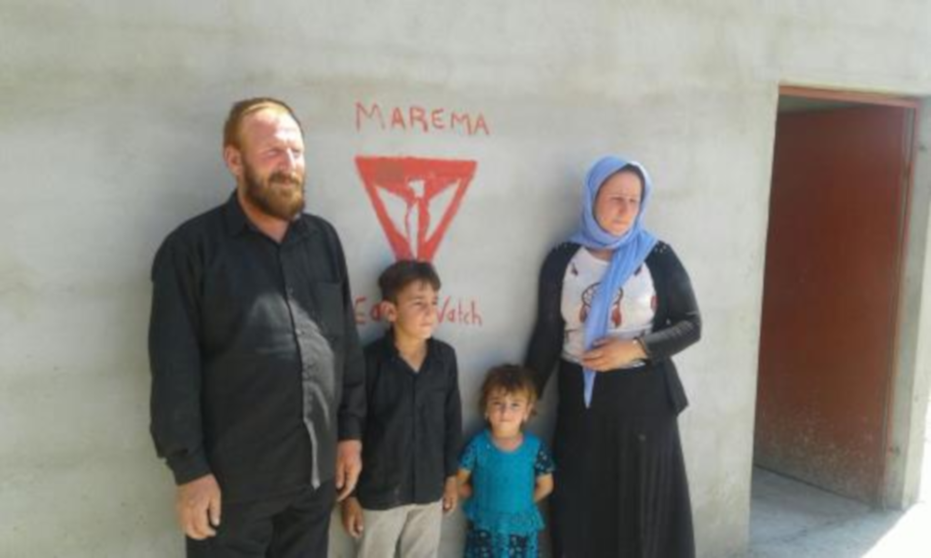 Odbudowa Sindżaru potrwa wiele lat, dlatego zrobiliśmy pierwszy krok – wybudowaliśmy dom dla rodziny przesiedleńców