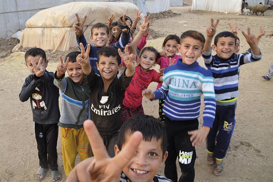 Raport zwyprawy Orlej Straży zpomocą charytatywną do Iraku wdn. 21-28.10.2016r.