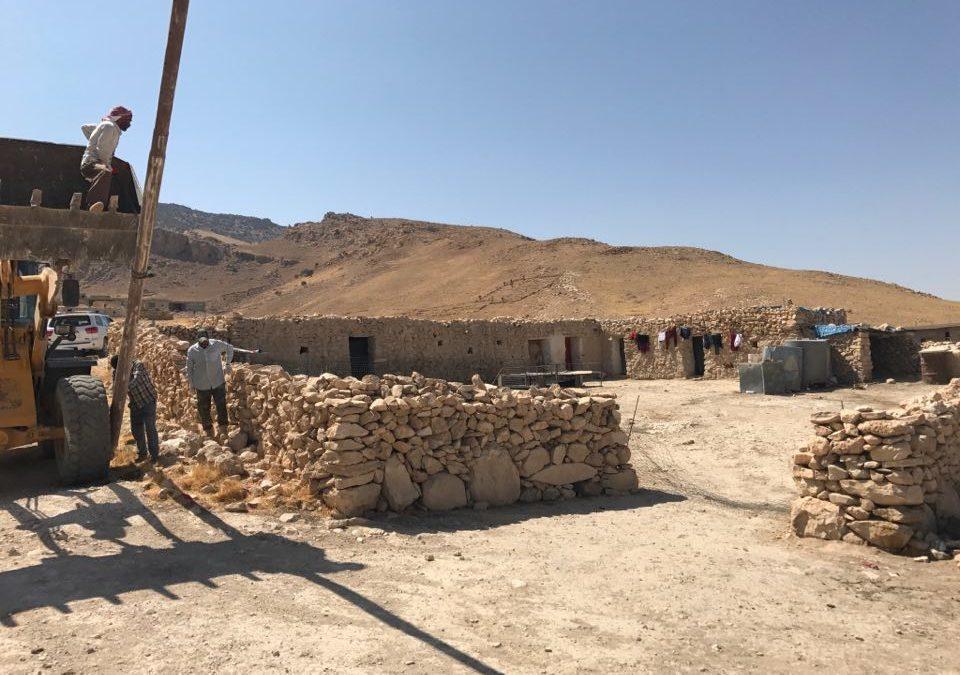 Niech popłynie prąd-pomoc fundacji Orla Straż welektryfikacji jazydzkiej wsi