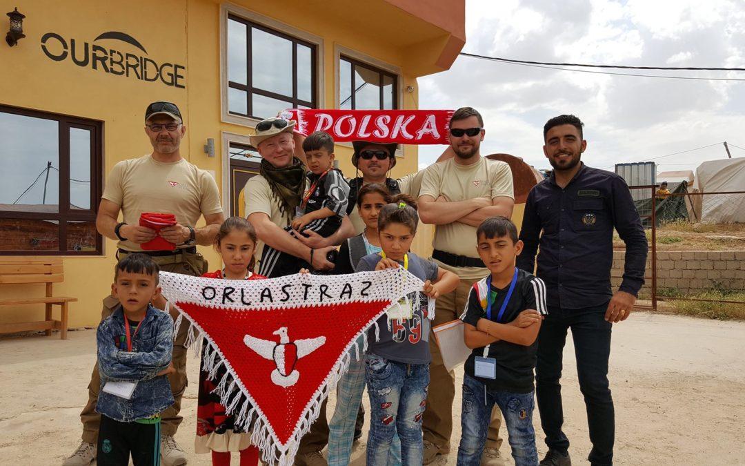 """""""Dziękujemy Orlej Straży, dziękujemy Polakom"""" – raport zwyjazdu do Iraku"""