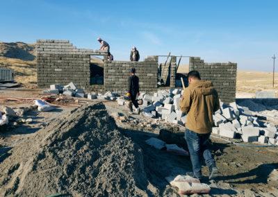 Nowe domy dla ofiar terrorystów