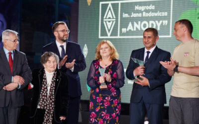 """Bartosz Rutkowski received the Jan Rodowicz """"Anoda"""" Award"""