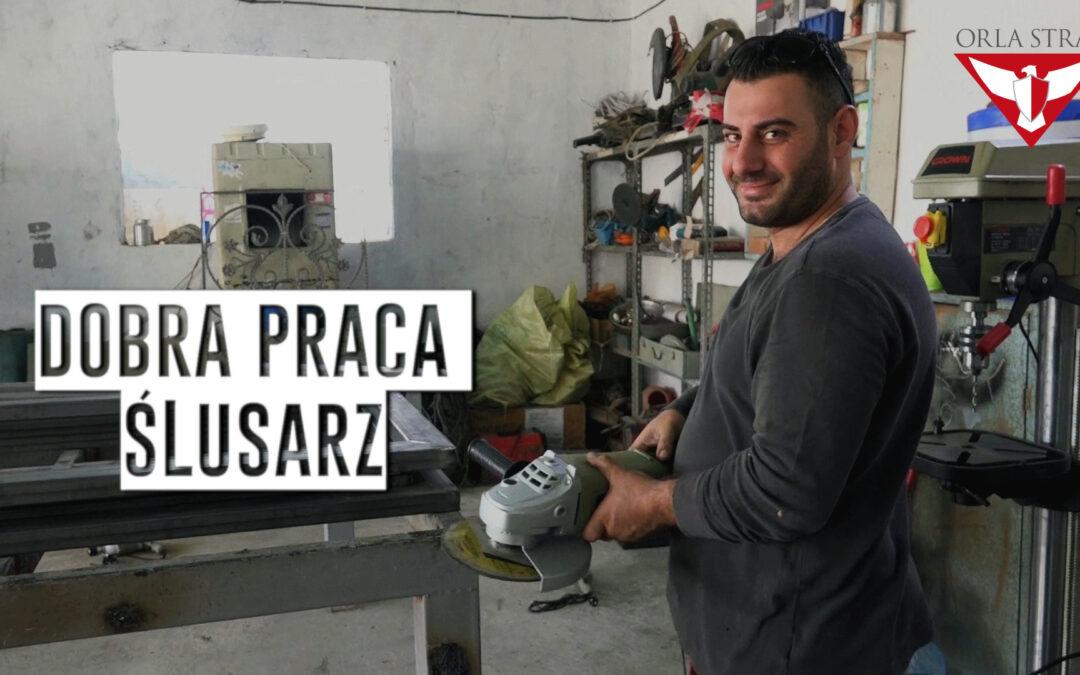 DOBRA PRACA – Warsztat ślusarski w Karakosz
