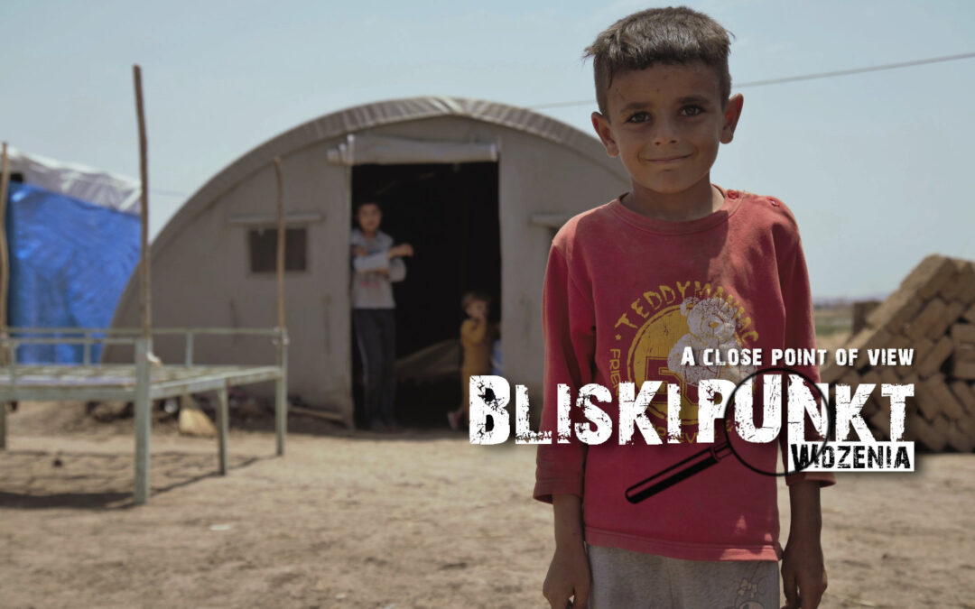 [A close point of view] Place of birth: A camp for internally displaced persons