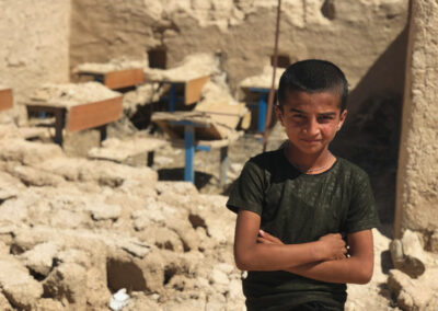 We are building a school in Iraq